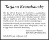Tatjana Kranzkowsky