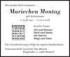Mariechen Montag