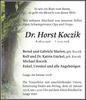 Dr. Horst Koczik
