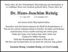 Dr. Hans-Joachim Reinig