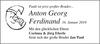 Anton Georg Ferdinand