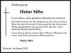 Heinz Silbe