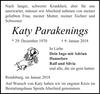 Katy Parakenings