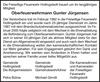 Oberfeuerwehrmann Gunter Jürgensen
