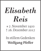 Elisabeth Reis
