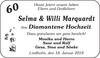 60 Selma und Willi Marquardt