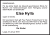 Else Hylla
