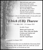Ulrich (Ulli) Thurow