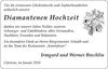 Diamantenen Hochzeit Irmgard und Werner Brechlin