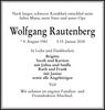 Wolfgang Rautenberg
