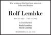 Rolf Lembke