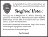 Siegfried Hotow