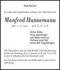 Manfred Hannemann