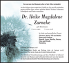 Dr. Heike Magdalene Zarncke