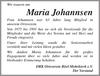 Maria Johannsen