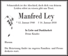 Manfred Ley