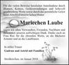 Mariechen Laube