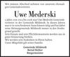 Uwe Mederski