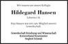 Hildegard Hansen