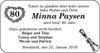 Minna Paysen