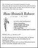 Hans Heinrich Rohwer