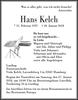 Hans Kelch