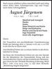 August Jürgensen