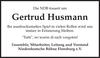 Gertrud Husmann