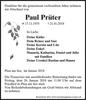 Paul Prüter