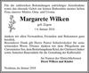 Margarete Wilken