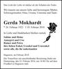 Gerda Mokhardt