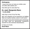 Dr. med. Margarete Mann