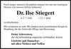 Dr. Ilse Stiegert