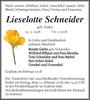 Lieselotte Schneider