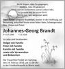 Johannes-Georg Brandt