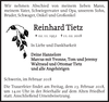 Reinhard Tietz