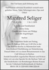 Manfred Seliger