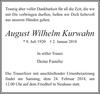 August Wilhelm Kurwahn