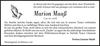 Marion Maaß