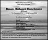 Renate Hildegard Dutschmann