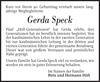 Gerda Speck