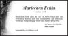 Mariechen Prühs