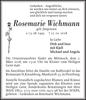 Rosemarie Wichmann