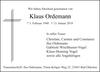 Klaus Ordemann