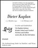 Dieter Kaplan