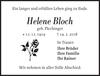 Helene Bloch
