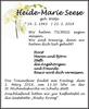 Heide-Marie Seese