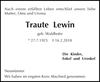 Traute Lewin