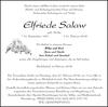 Elfriede Salaw