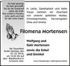 Filomena Mortensen